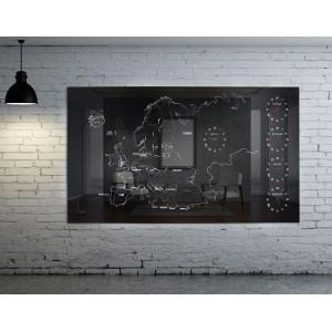 EUROPE-MAP-5 Καθρέπτες / Διακοσμητικά